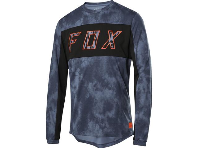 Fox Ranger Dri-Release Elevated Langarm Trikot Herren blue steel